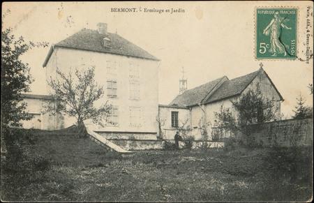 Bermont, Ermitage et jardin