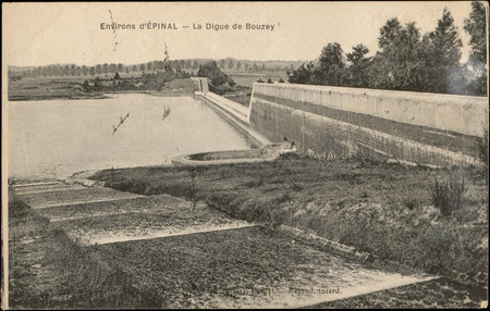 Environs d'Épinal, La digue de Bouzey