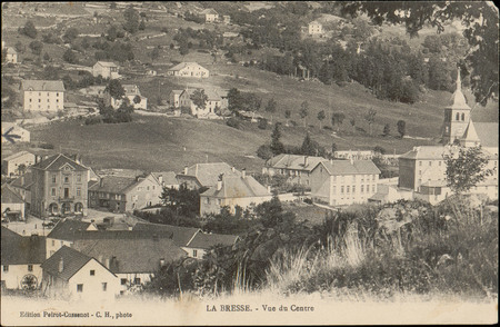 La Bresse, Vue du Centre
