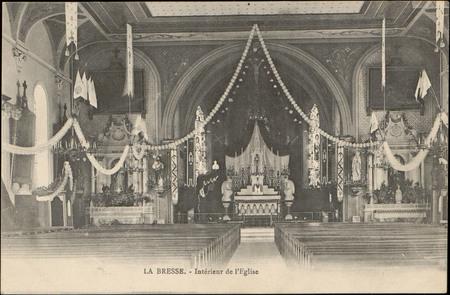 La Bresse, Intérieur de l'Église