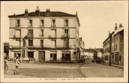 Bruyères, Rue Abel-Ferry