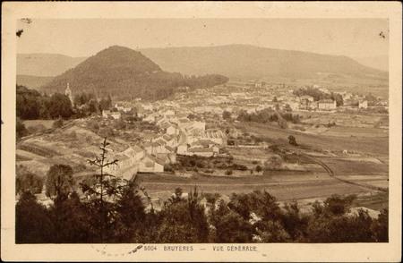 Bruyères, Vue générale