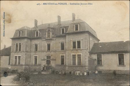 Bruyères-en-Vosges, Institution Jeanne d'Arc