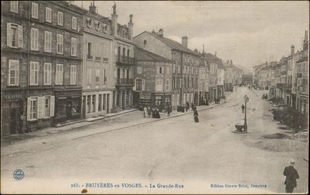 Bruyères-en-Vosges, La Grande-Rue
