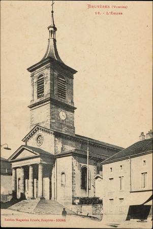 Bruyères (Vosges), L'Église
