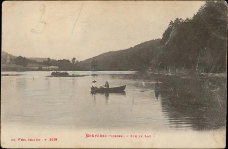 Bruyères (Vosges), Sur le lac