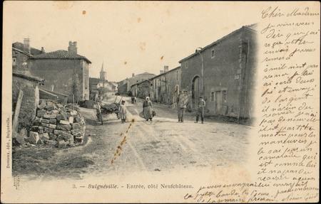 Bulgnéville, Entrée, côté NeufChâteau