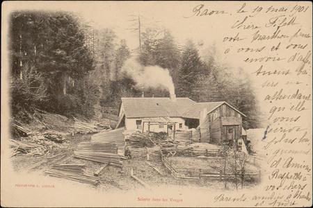Scierie dans les Vosges