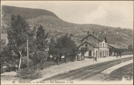 Bussang, La Gare, Vue intérieure