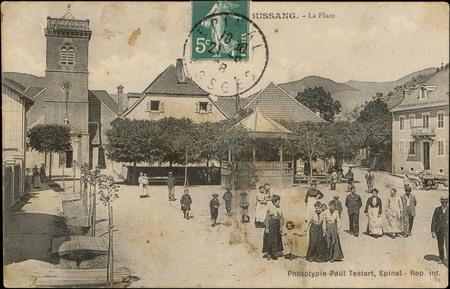 Bussang, La Place