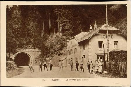Bussang, Le Tunnel (côté Alsacien)