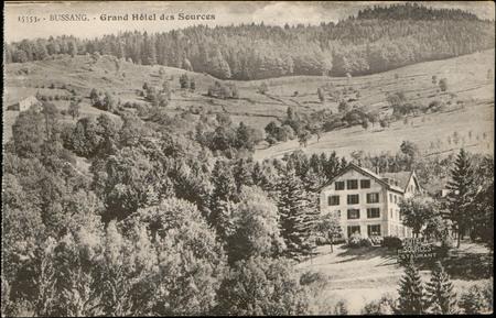 Bussang, Grand Hôtel des Sources