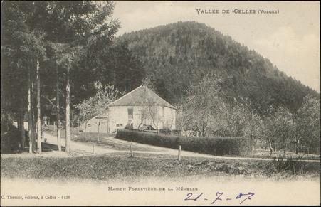 Vallée de Celles (Vosges), Maison forestière de la Ménelle