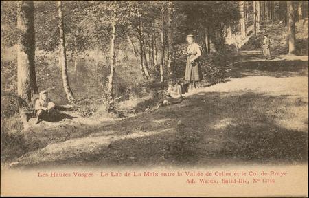 Le Lac de La Maix entre vallée de Celles et le Col de Prayé