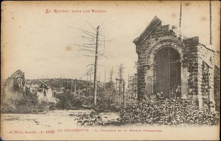 La Chapelotte, La Chapelle et la maison forestière