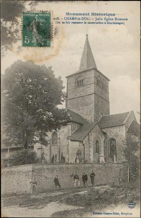 Champ-le-Duc, Jolie Église romane […]