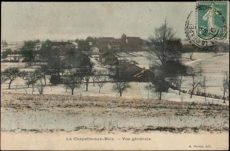 La Chapelle-aux-Bois, Vue générale