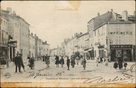 Charmes-s.-Moselle, Rue des Capucins