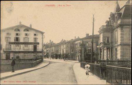 Charmes, Rue du Pont