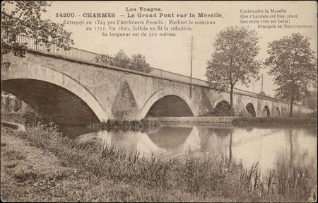 Charmes, Le Grand Pont sur la Moselle […]