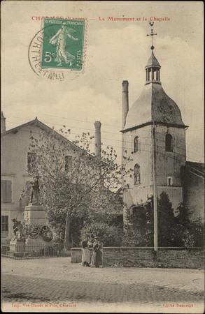 Charmes (Vosges), Le Monument et la Chapelle