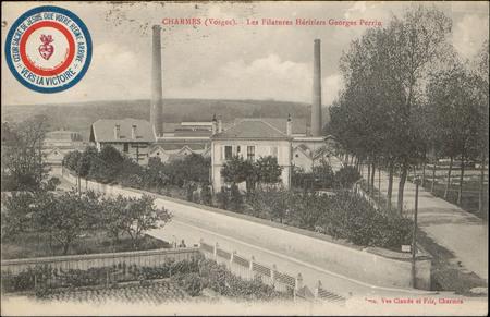 Charmes (Vosges), Les Filatures héritiers Georges Perrin