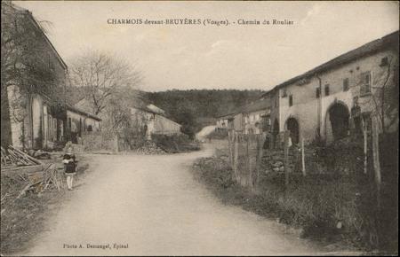 Charmois-devant-Bruyères (Vosges), Chemin du Roulier