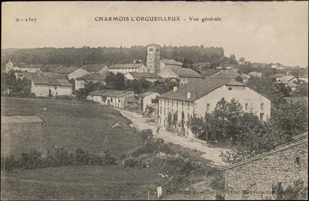 Charmois-L'Orgueuilleux, Vue générale