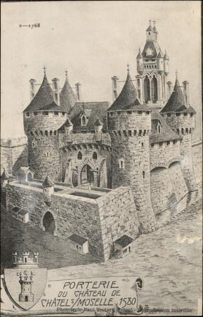 Poterie du Château de Châtel-s/-Moselle, 1580