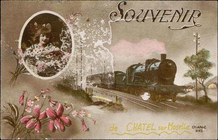 Souvenir de Châtel-sur-Moselle