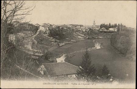 Châtillon-sur-Saône, Vallée de l'Apance