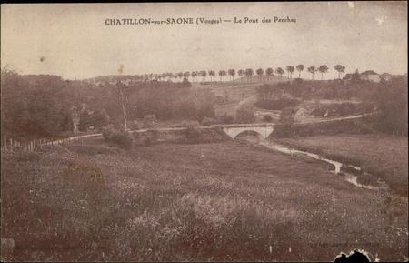 Châtillon-sur-Saône (Vosges), Le Pont des Perches