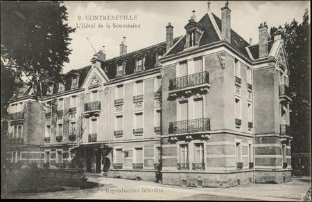 Contrexéville, L'Hôtel de la Souveraine