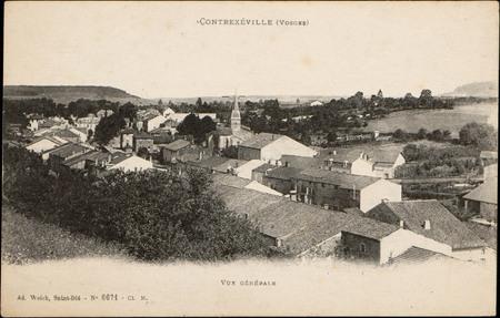 Contrexéville (Vosges), Vue générale