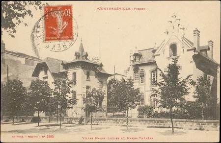 Contrexéville (Vosges), Villas Marie-Louise et Marie-Thérèse