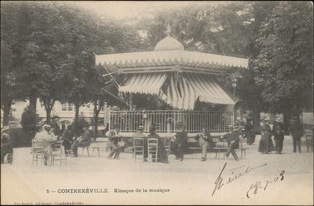 Contrexéville, Kiosque de la musique