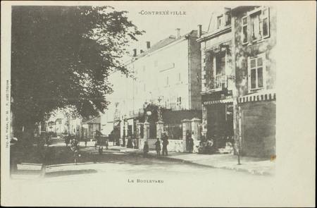 Contrexéville, Le Boulevard