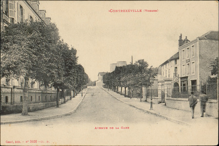 Contrexéville (Vosges), Avenue de la Gare