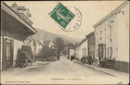Cornimont, Rue de la Gare
