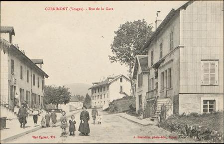 Cornimont (Vosges), Rue de la Gare