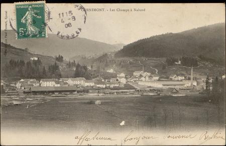 Cornimont, Les Champ à Nabord
