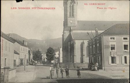 Cornimont, Place de l'Église