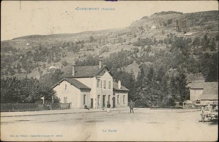 Cornimont (Vosges), La Gare