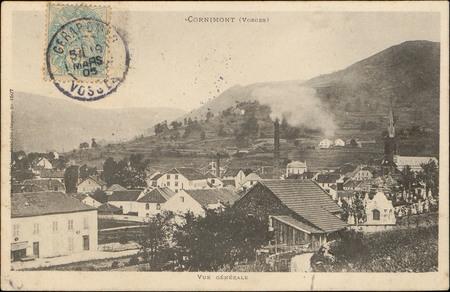 Cornimont (Vosges), Vue générale
