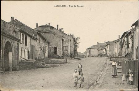 Damblain, Rue de Poiseul