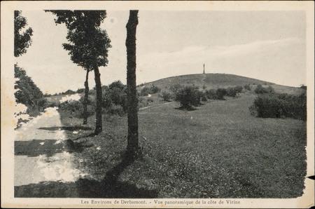 Les Environs de Derbamont, Vue panoramique de la côte de Virine