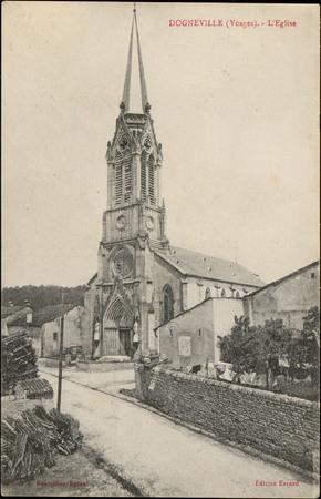 Dogneville (Vosges), L'Église