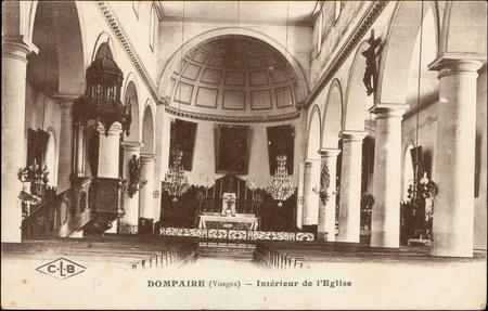 Dompaire (Vosges), Intérieur de l'Église