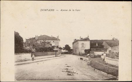 Dompaire, Avenue de la Gare
