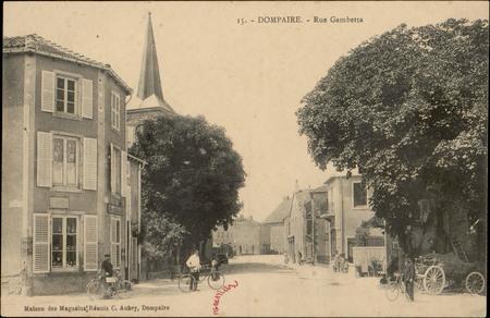 Dompaire, Rue Gambetta